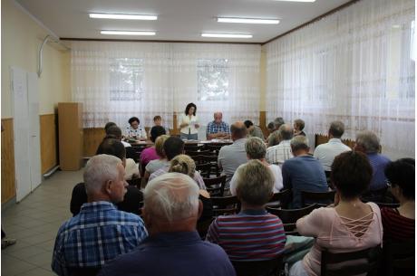 Zebranie Wiejskie w Zbytkowie. Fot: UM Strumień